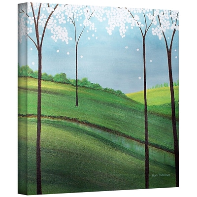 ArtWall Whimsy Spring Gallery Wrapped Canvas Art By Herb Dickinson, 24 x 24