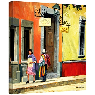 ArtWall Streets of Mexico Gallery Wrapped Canvas Art By Rick Kersten, 36 x 36