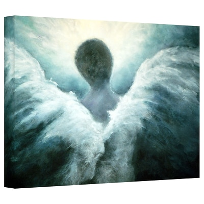 ArtWall Ascending Angel Gallery Wrapped Canvas Art By Marina Petro, 24 x 36