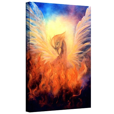 ArtWall Phoenix by Rising Gallery Wrapped Canvas Art By Marina Petro, 48 x 32