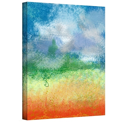 ArtWall Big Sky Calm Gallery Wrapped Canvas Art By Jan Weiss, 48 x 36