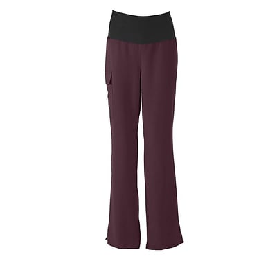 Medline Ocean ave Women 2XS Scrub Pants, Wine (5560WNEXXS)