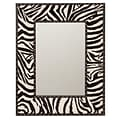 Aspire Zebra Wall Mirror; 31 H