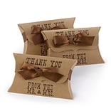HBH™ Kraft Western Style Pillow Favor Boxes