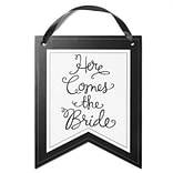 HBH™ Here Comes The Bride Pennant Sign