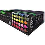 Crafters Companion 72 Slot Spectrum Noir Universal Marker Storage Tray, Black, 6/Pack