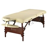 Master Massage® Del Ray Pro LX 30 Portable Massage Table Package, Cream