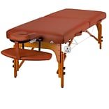Master Massage® Santana™ Therma-Top® LX 31 Portable Massage Table Package, Mountain Red