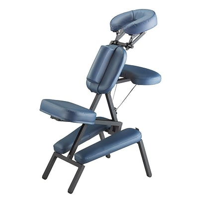 Master Massage® The Professional™ Portable Massage Chair, Royal Blue