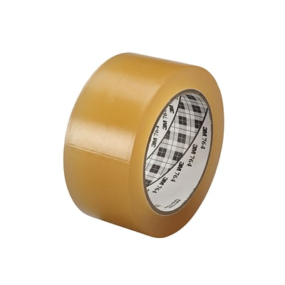 3M™ 1 x 36 yds. General Purpose Solid Vinyl Safety Tape 764, Clear, 6/Pack