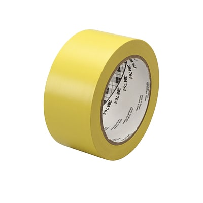 3M™ 1 x 36 yds. General Purpose Solid Vinyl Safety Tape 764, Yellow, 6/Pack