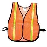 OR Soft Mesh Safety Vest W/1 LM/YL RFL