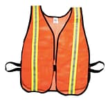 OR Soft Mesh Safety Vest W/1 1/2Reflective