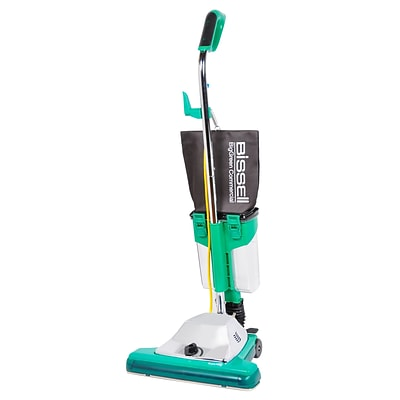 Edmar Corporation Bissell® BG102DC ProCup 16 Bagless Commercial Upright Vacuum; Green/Chrome