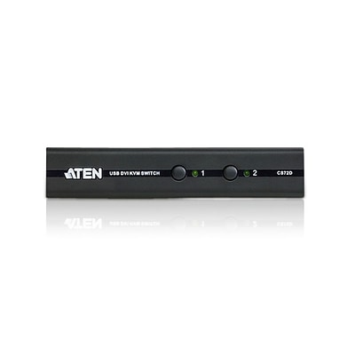Aten® 2 Port USB DVI KVM Switch