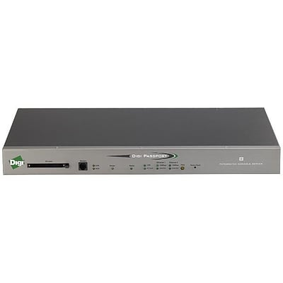 DIGI INTERNATIONAL Passport 70002268 8-Port Console Server with Modem
