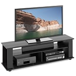 CorLiving™ Bakersfield Ravenwood TV/Component Stand For 65 TVs, Black