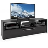 CorLiving™ Naples Black TV/Component Bench