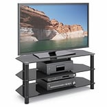 CorLiving™ Trinidad BK TV Component Stand