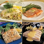 Seafood SamplerOmaha Steaks Wild Salmon Fillets ,Halibut Fillets, Mahi Mahi Fillets & Swordfish Stea