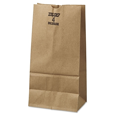 97f568109a2 Duro Extra Heavy Duty Kraft Paper Grocery Bags  500 Pack
