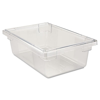 Rubbermaid® Food Storage Container, 3-1/2 Gallon, 6 High, Clear