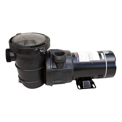 Blue Wave 1 HP Maxi Replacement Pump For Above-Ground Pools, Black