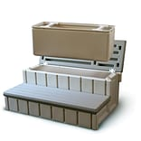 Confer 36 Spa Step With Storage, Redwood
