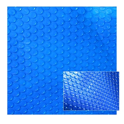 Swim Time™ 7 x 8 Spa and Hot Tub Solar Cover, Blue