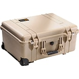 Pelican™ 1560 Hard Case With Foam; Desert Tan