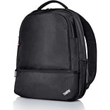 Lenovo® ThinkPad Essential Poly Gucci Backpack For 15.6 Laptops, Black