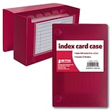 Better Office Products Index Card Case 3 x 5, 24/Pack
