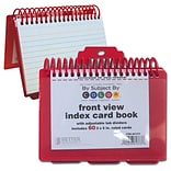 Better Office Products Index Card Binder & Notebook,  24/Pack