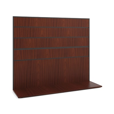 basyx® by HON Manage Collection Work Wall, Chestnut Finish, 50H x 60W
