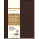 Strathmore® 7 3/4 x 9 3/4 Softcover Art Journal, Toned Sketch