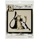 Tobin Kitty Trio Counted Cross Stitch Kit