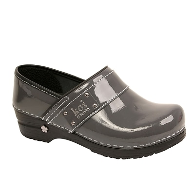 Sanita Footwear Leather Lindsey Clog Steel, 11.5-12 (73457506-56-42)