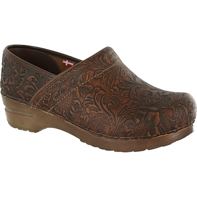 Sanita Footwear Leather Womens Professional Gwenore Clog (457626-03-38)
