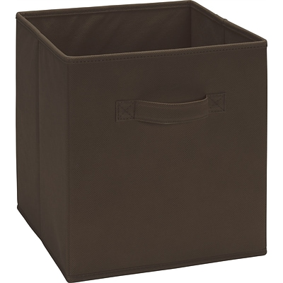 Ameriwood™ Fabric Storage Bin For 6 and 9 Cube Storage Units, Brown