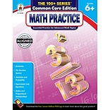 Math Practice Workbook, Grades 6+