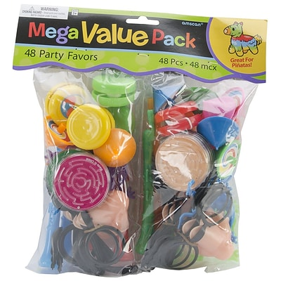 Notions Plastic AMSCAN Assorted Pinata Party Favor