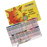 CrayPas Junior Artist Oil Pastels 50/Pkg