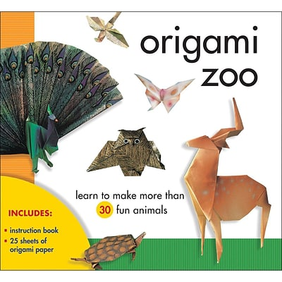 Notions Paper Origami Zoo Kit