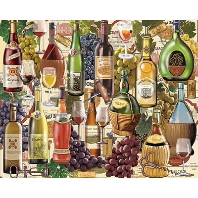 Notions Wine Country - 1000 Piece Jigsaw Puzzle 24 X 30