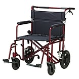 Drive Medical Bariatric Heavy Duty Transport Wheelchair (ATC22-R)