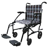Drive Medical Fly Lite Ultra Lightweight Transport Wheelchair Black (DFL19-BLK)