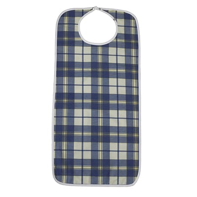 Lifestyle Essentials Lifestyle Flannel Bib, Large
