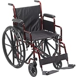 Drive Medical Rebel Lightweight Wheelchair (RTLREB18DDA-SF)