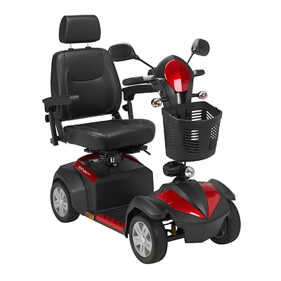 Drive Medical Ventura 4 Wheel Scooter, 20 Captains Seat