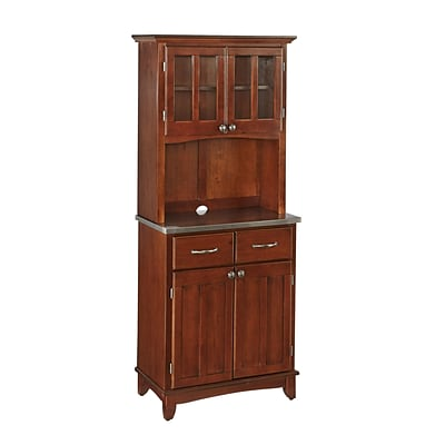 Home Styles 71.5 Solid Wood and Veneers Buffet Server and Hutch
